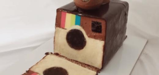 インスタグラムのロゴ型ケーキがハイクォリティすぎて飾っておきたいレベル!