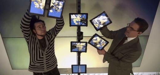 iPadを使ったハイテクすぎるマジックショー