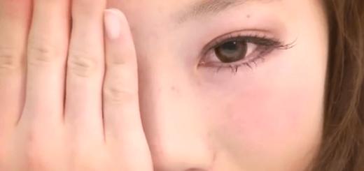 【衝撃】女子9人の半顔メイクが別人すぎる件