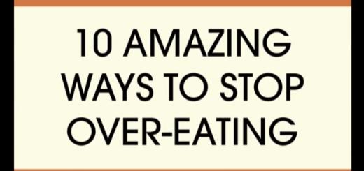 食べ過ぎを防ぐ意外な10の方法