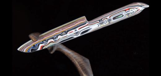 100圴の包丁から美しすぎるカスタムナイフを作る方法