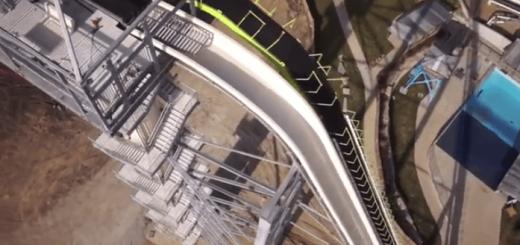 怖すぎ…世界一高いウォータースライダーが規格外