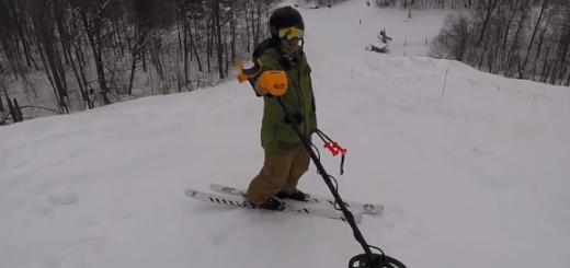 【衝撃】スキー場で落としたiPhoneを金属探知機で探してみた結果…