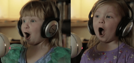 「Let it go」を歌う4歳の双子の歌声がピュアすぎると全世界で話題に