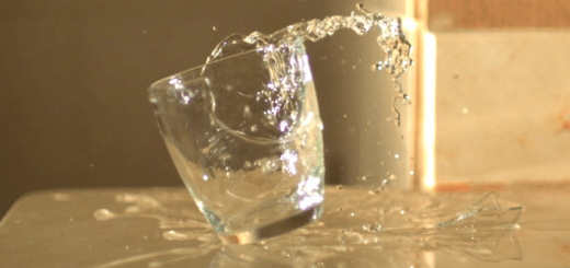 ハイスピードカメラで撮影された「日常」の動き