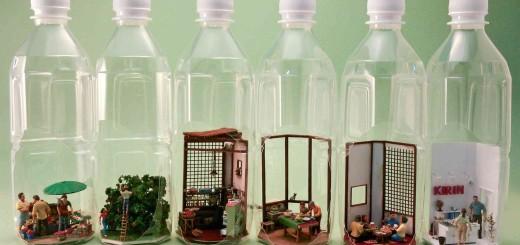 500mlペットボトルの中で再現されたリアルすぎる「タイのキッチン」