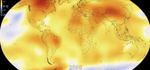 15秒でみる63年分の地球温暖化