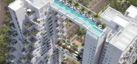 「マリーナベイサンズ」で有名なシンガポールが、今度はこんな所にプールをつくっちゃいます!