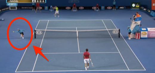 選手だけじゃない!?テニスの試合中に起きたスーパープレイがスゴすぎる