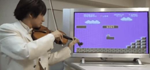 スーパーマリオブラザーズの効果音をすべてバイオリンで演奏してみた
