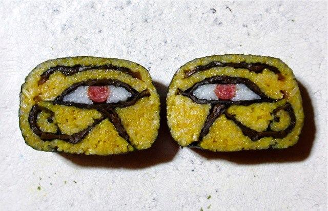 食べ物ってレベルじゃねえぞ!想像のナナメ上を行くアートな巻き寿司がヤバい
