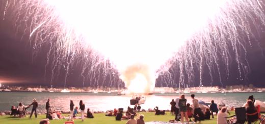 世界一短い花火大会?15秒で2万発を打ち上げた花火大会がヤバい
