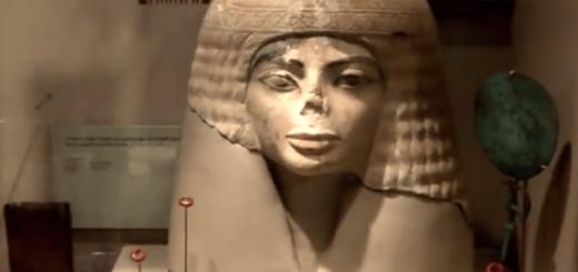 マイケルジャクソンに激似な古代エジプトの石像