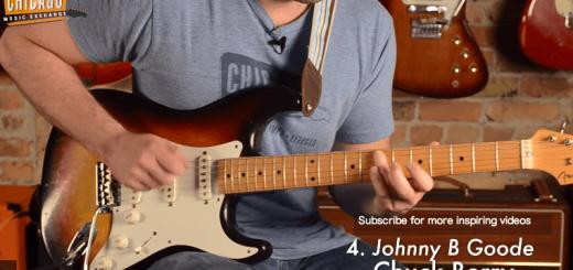 【洋ロックファン必見】100のギター・リフで振り返るロックの歴史
