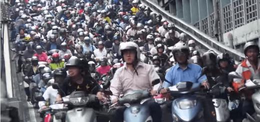 【衝撃】台湾の通勤ラッシュがハンパない