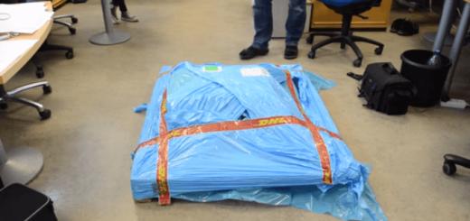 【衝撃】巨大な梱包で届いた荷物の中身とは?