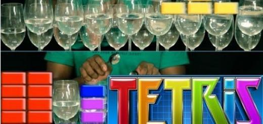 テトリスのBGMをワイングラスで演奏してみたよ!