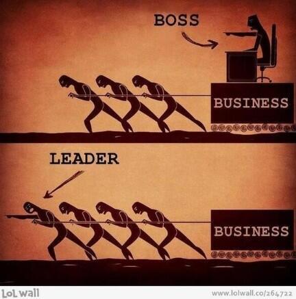 あなたの職場はどっち?ボスとリーダーの違い