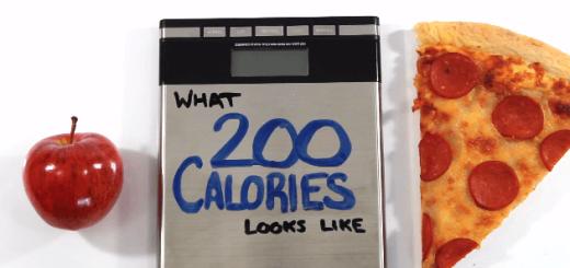 【衝撃】食品別に200キロカロリー分の量を取り分けてみた