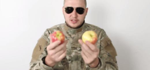 サルでもできる!? 指一本でリンゴをまっぷたつにする方法