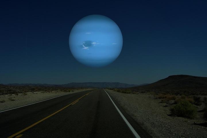 もし夜空に浮かんでいるのが月ではなく他の惑星だったら?