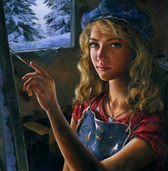 14 4歳ですでに写実的! 天才少女の描いた絵を年齢順に並べてみた