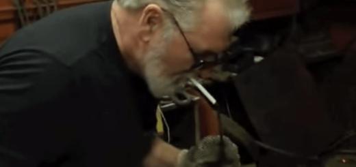 火を使わずにタバコを吸うおじいちゃんの超絶テクニック
