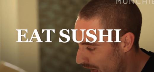 """超有名な寿司職人が外国人向けに""""寿司の食べ方""""を教える動画がアートすぎてウットリ"""