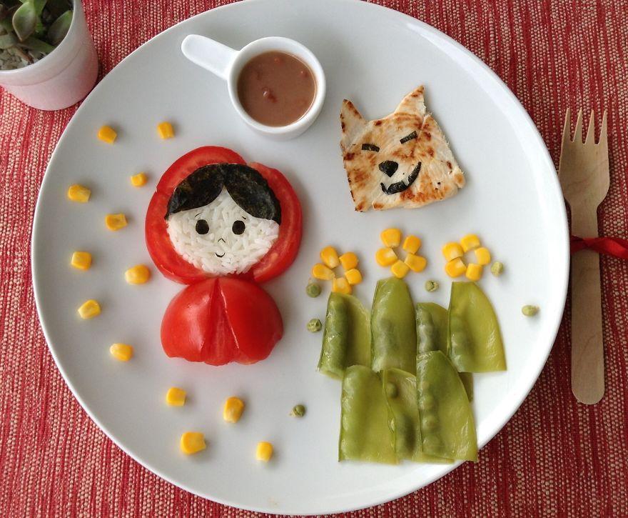 カワイすぎて食べられない! お母さんが作ったクリエイティブすぎるご飯15選