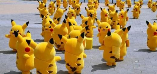 【ポケモンの逆襲】横浜でピカチュウが大量発生!