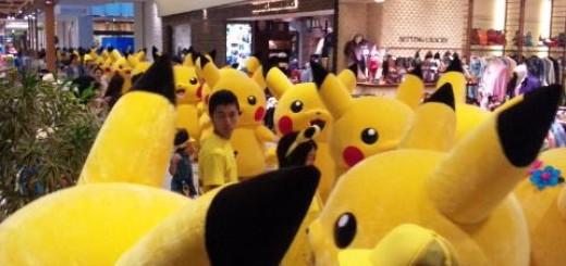 【異常繁殖】ピカチュウ、またもや横浜で大量発生!