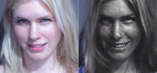 【衝撃】美容の大敵! 一見美しく見える肌でも、紫外線カメラで撮影してみると…。