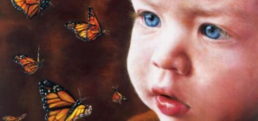 4歳ですでに写実的! 天才少女の描いた絵を年齢順に並べてみた