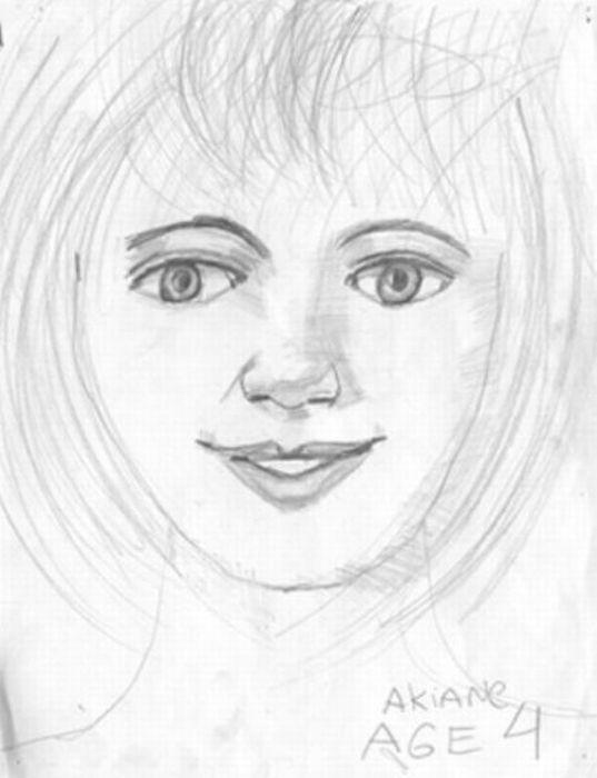 44歳ですでに写実的! 天才少女の描いた絵を年齢順に並べてみた