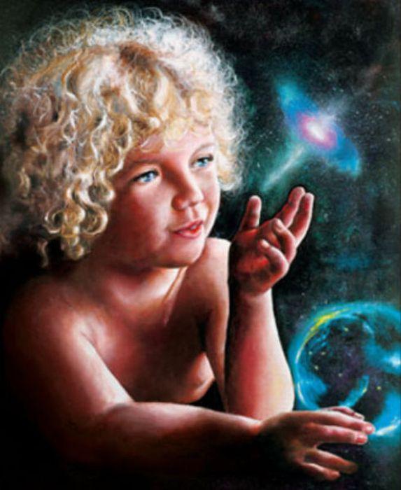 9 4歳ですでに写実的! 天才少女の描いた絵を年齢順に並べてみた