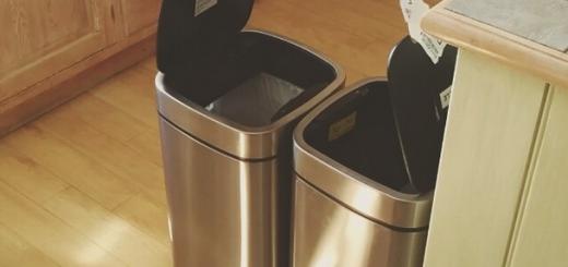【笑撃】自動開閉機能センサーがついたゴミ箱を向かい合わせに置いてみると…