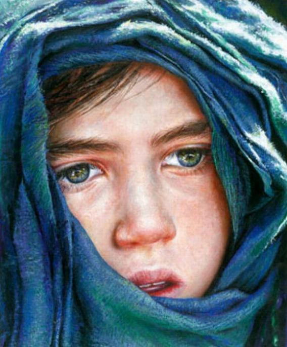 15 4歳ですでに写実的! 天才少女の描いた絵を年齢順に並べてみた