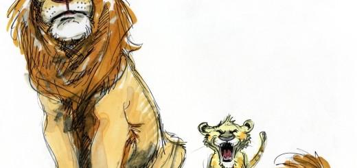14.ムファサとシンバ(ライオン・キング)
