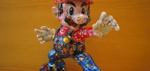 ある意味究極のリサイクル! 空き缶で再現された人気アニメキャラクターが超イケてる
