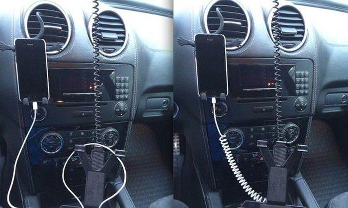 移動用にピッタリ! iPhoneの充電ケーブルをらせん状にする裏ワザ