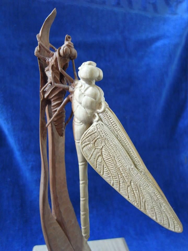 まるで生きているよう! 職人作の木彫りアートがため息がでるほど美しい