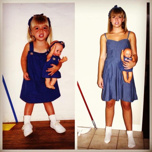 歴史を感じる…。大人になった本人が子供時代を完全再現した写真が感慨深い