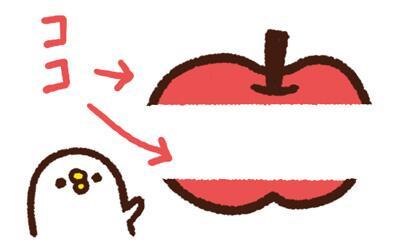 """簡単カワイイ! 子どもも喜ぶ""""横剥きリンゴ""""のつくりかた"""