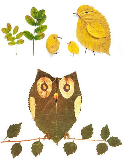 秋の実りを素朴なインテリアに!木の実と落ち葉でつくるアート作品10選