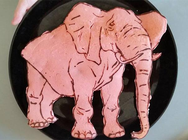 食べるのが惜しい! 父が息子に作ったリアルすぎる猛獣パンケーキ10選