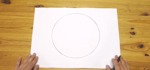 """目からウロコ!道具を使わずに""""完ぺきな丸を描く""""テクニックがスゴい"""