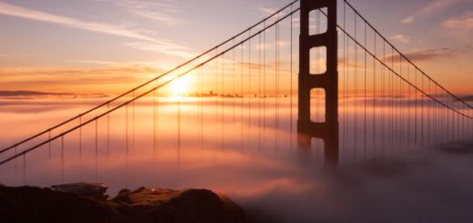 霧の街、サンフランシスコをタイムラプス撮影した動画に思わず感動。
