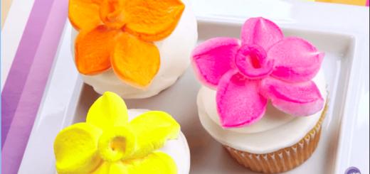 マシュマロを使って超キュートなお花を作る方法