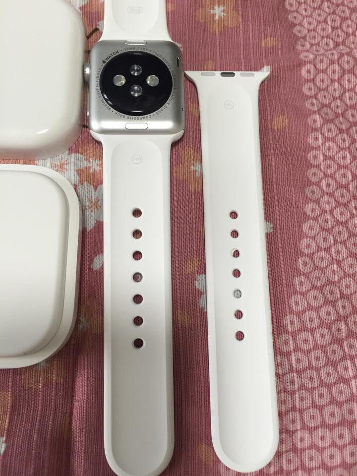 Apple Watchのサイズ感は? 早速購入&着用してみた